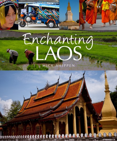 Enchanting Laos cover