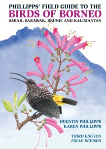 Phillips field guide to the birds of borneo cover