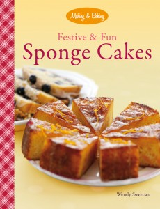 Festive and Fun Sponge Cakes cover